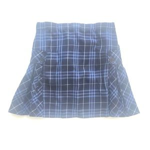 14 Lands End Kids Plaid Uniform Skirt Box Pleated
